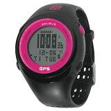 Soleus/ソリアス SGJ01011 GPS FIT1.0J ランウォッチ 日本限定カラーモデル Black/Pink