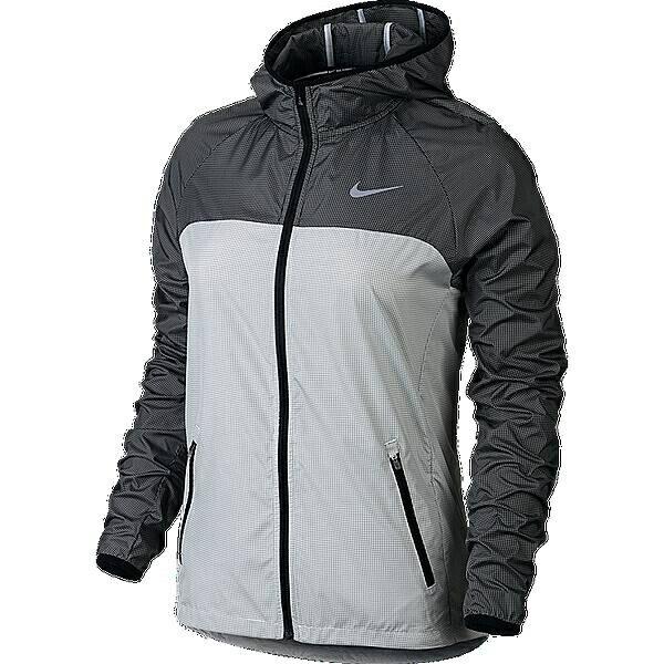 NIKE 685934/100 ナイキ ウィメンズ レーサー ウーブン ジャケット カラー:ホワイト/ブラック/Rシルバー サイズ:S