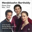 Mendelssohn メンデルスゾーン / ピアノ三重奏曲第1番、第2番 ユリア・フィッシャー、ダニエル・ミュラー=ショット、ジョナサン・ギラード 輸入盤