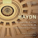 Haydn ハイドン / 交響曲第8番 晩 、第84番、ヴァイオリン協奏曲第3番 ハリー・クリストファーズ & ヘンデル ハイドン・ソサエティ、アイスリン・ノスキー 輸入盤