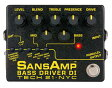 TECH 21 SANSAMP BASS DRIVER DI V2 正規輸入品