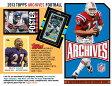 NFL 2013 TOPPS ARCHIVES FOOTBALL NFL公式ベースボールカード