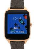 ASUS スマートウォッチ ASUS ZenWatch 2 1.63インチ/本体:ローズゴールド、ストラップ:アッシュブラウン 本皮 WI501Q-AB04