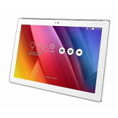 ASUS エイスース ZenPad 10 ホワイト Z300CNL-WH16 10.1型 SIMフリータブレット LTE対応 microSIMx1 Z300CNLWH16 タブレットPC本体