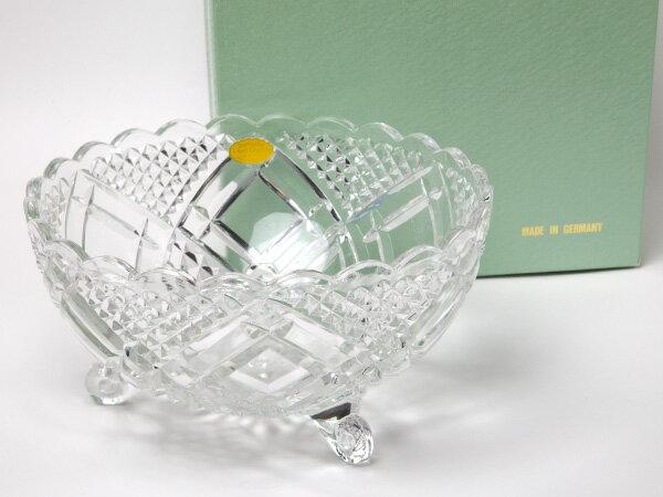【送料無料】MIKIMOTO ミキモトインターナショナル クリスタルカットサラダボウルお茶のふじい・藤井茶舗