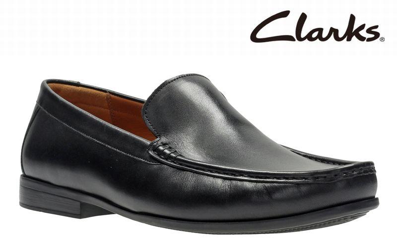 【706E】【Clarks】【送料無料】【牛革】【Claude Plain】アッパー全て牛革☆ クロードプレイン スリッポンビジネスシューズ紳士靴