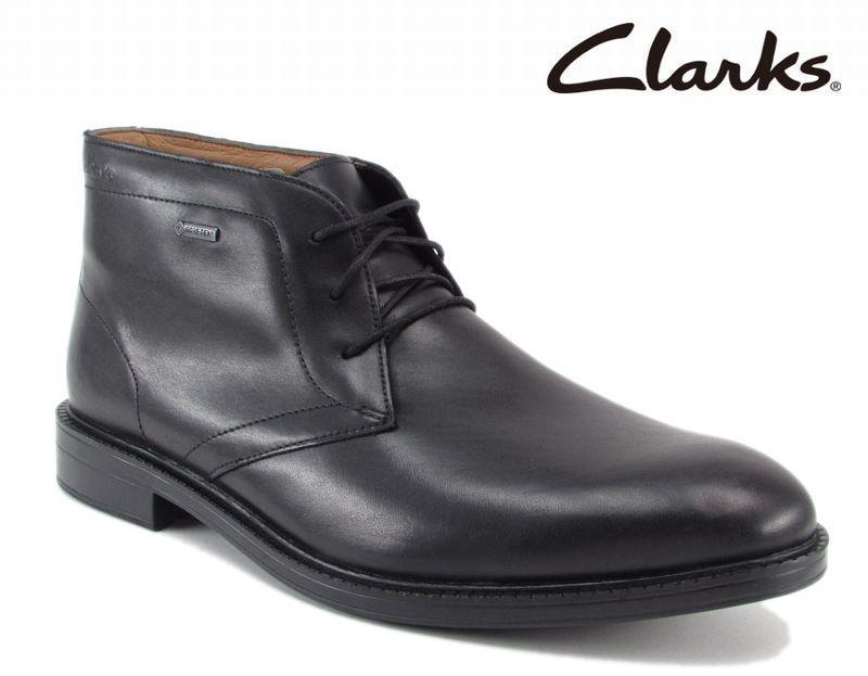 美しい 【801E_B】【Clarks】【送料無料】【牛革】【Chilver Walk GTX】アッパー全て牛革☆  チルバーウォークGTX 紐タイプビジネスシューズ紳士靴