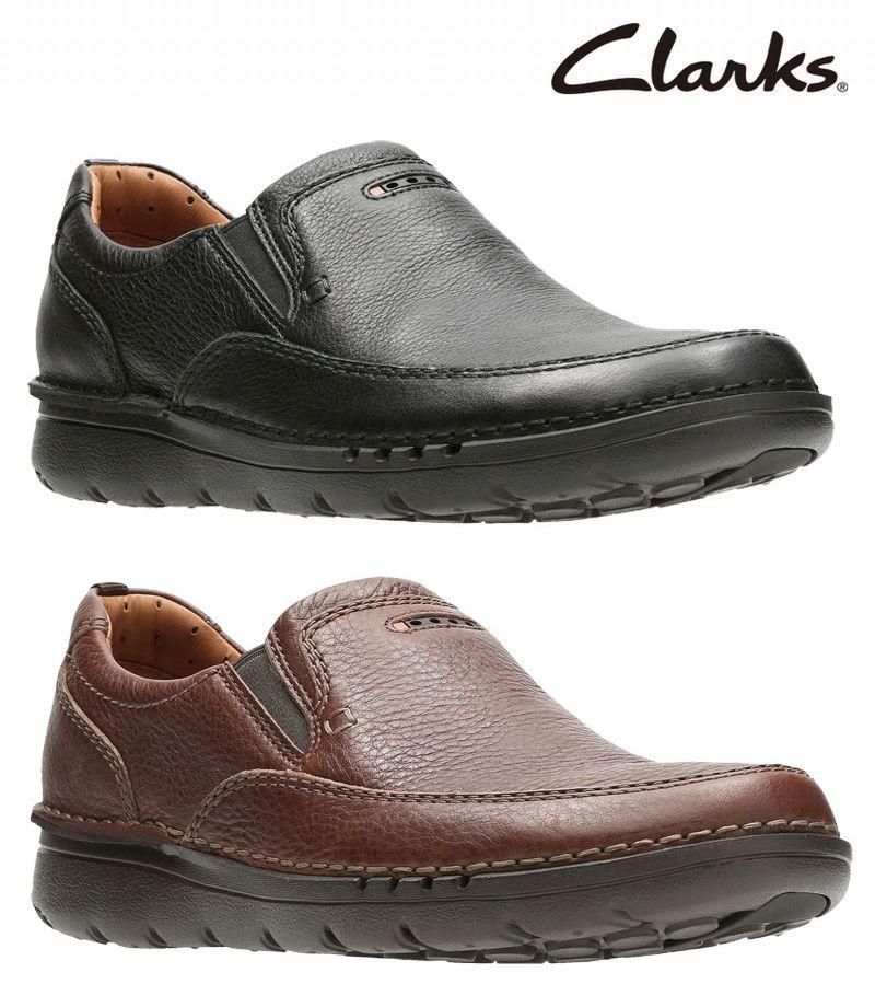 激安セール 【829E】【Clarks】【送料無料】【牛革】【Unnature Easy】アッパー全て牛革☆アンネイチャーイージー カジュアルシューズビジネスシューズ紳士靴
