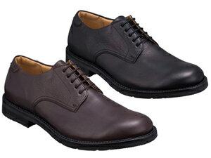 【237WBE】【Regal Walker】【送料無料】【日本製】【幅広】アッパー全て牛革☆ プレーントウ エアローテーションシステム4Eビジネスシューズ紳士靴