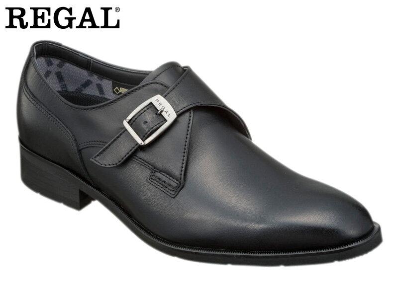 【36HRBB】【REGAL】【送料無料】【日本製】アッパー全て本革☆ゴアテックスRファブリクス!ハイヒール モンクストラップビジネスシューズ紳士靴