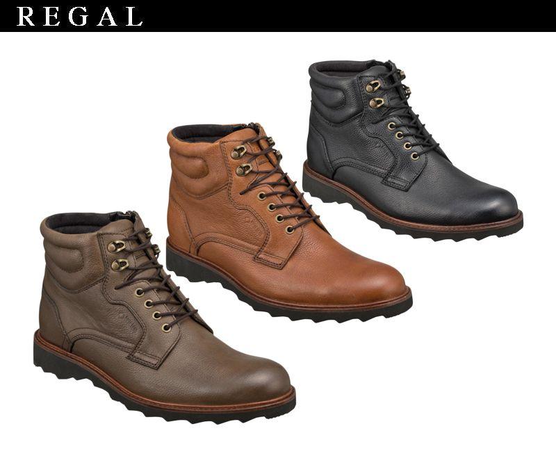 一般用 【52NRBE】【REGAL】【送料無料】ゴアテックス(r)ファブリクス☆すべて本革レースアップブーツビジネスシューズ紳士靴