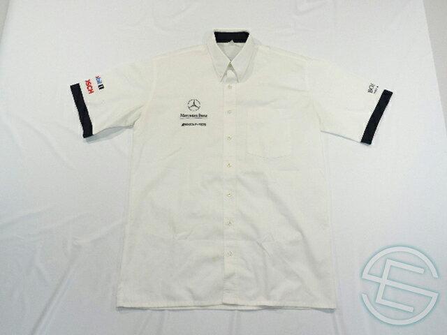 【送料無料】 DTM メルセデス・AMG 90年代 支給品 ヒューゴボス製 ピットシャツ メンズ 4/5 A(海外直輸入 F1 非売品USEDグッズ ベンツ)