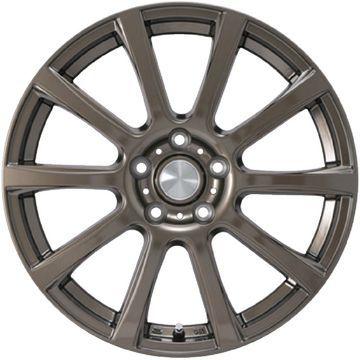 【送料無料】 225/60R17 17インチ カジュアルセット タイプB17 ブロンズ 7J 7.00-17 YOKOHAMA ヨコハマ ジオランダー SUV G055 サマータイヤ ホイール4本セット