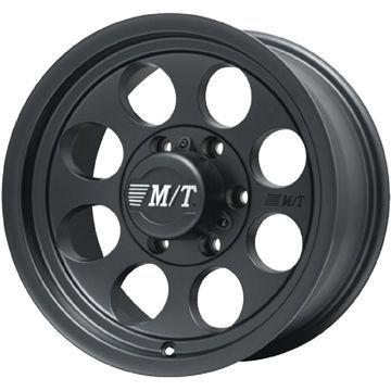 【送料無料】 285/75R16 16インチ MICKEY-T ミッキートンプソン クラシック3 ブラック 8J 8.00-16 YOKOHAMA ヨコハマ ジオランダー A/T G015 OWL/RBL サマータイヤ ホイール4本セット