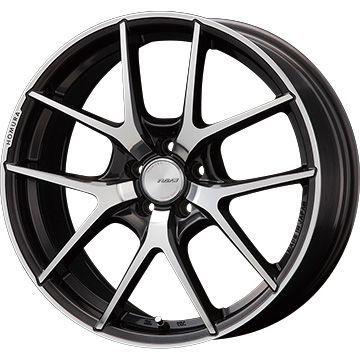 【送料無料】 225/45R18 18インチ RAYS レイズ ホムラ A5S 7.5J 7.50-18 SAFFIRO サフィーロ SF5000(限定) サマータイヤ ホイール4本セット