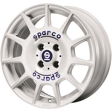 【送料無料】 225/55R17 17インチ OZ SPARCO テラ 7.5J 7.50-17 YOKOHAMA ヨコハマ ブルーアース A(AE50Z) SALE サマータイヤ ホイール4本セット