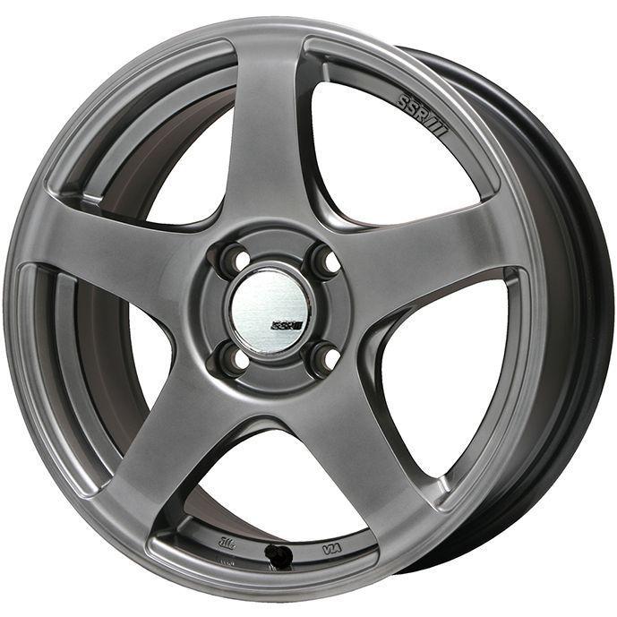 【送料無料】 195/55R15 15インチ SSR GTV01 6.5J 6.50-15 SAFFIRO サフィーロ SF5000(限定) サマータイヤ ホイール4本セット