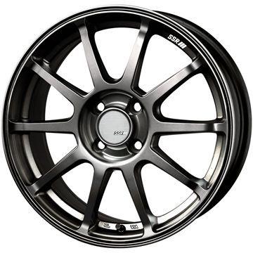 【送料無料】 185/55R15 15インチ SSR GTV02 6.5J 6.50-15 SAFFIRO サフィーロ SF5000(限定) サマータイヤ ホイール4本セット