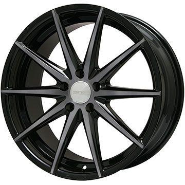 【送料無料】 245/40R18 18インチ SPORT TECHNIC スポーツテクニック S-010 ブラックエディション 8J 8.00-18 DUNLOP ダンロップ SPスポーツ MAXX 050+ サマータイヤ ホイール4本セット 輸入車