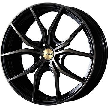 【送料無料】 235/55R18 18インチ RAYS レイズ グラムライツ 57FXX CJ spec 7.5J 7.50-18 SAFFIRO サフィーロ SF5000(限定) サマータイヤ ホイール4本セット