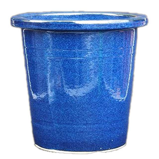 �産地直�・�料無料】 信楽焼�木鉢 生�懸崖鉢 13� (1724-02)�ガーデニング・観葉�物・寄���】