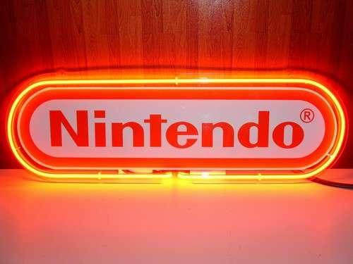 【海外直輸入商品・納期1週間~3週間程度】【全国送料580円・2万以上送料無料】Nintendo ニンテンドー ネオン看板 ネオンサイン 広告 店舗用 NEON SIGN アメリカン雑貨 看板 ネオン管
