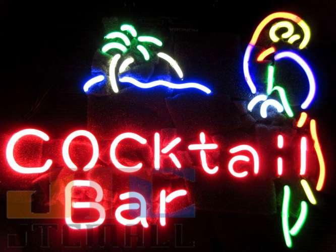 【海外直輸入商品・納期1週間~3週間程度】【全国送料580円・2万以上送料無料】Cocktail Bar ネオン看板 ネオンサイン 広告 店舗用 NEON SIGN アメリカン雑貨 看板 ネオン管