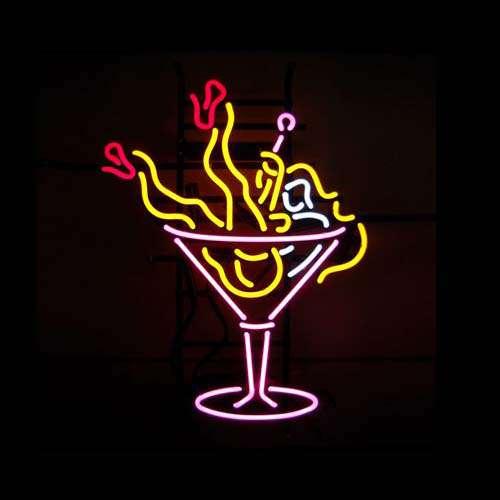 【海外直輸入商品・納期1週間~3週間程度】【全国送料580円・2万以上送料無料】Cocktail カクテル Bar ネオン看板 ネオンサイン 広告 店舗用 NEON SIGN アメリカン雑貨 看板 ネオン管