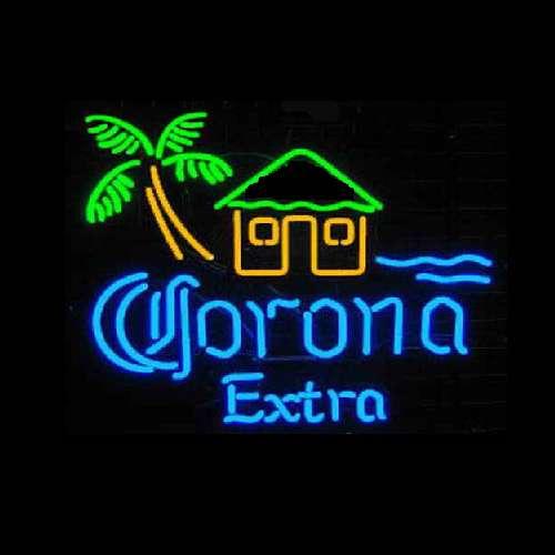 【海外直輸入商品・納期1週間~3週間程度】【全国送料・消費税込 Corona Extra コロナエキストラ ビール ネオン看板 ネオンサイン 広告 店舗用 NEON SIGN アメリカン雑貨 看板 ネオン管