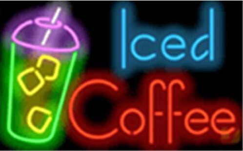 【海外直輸入商品・納期1週間~3週間程度】【全国送料580円・2万以上送料無料】A31 Iced Coffee アイスコーヒー ネオン看板 ネオンサイン 広告 店舗用 NEON SIGN アメリカン雑貨 看板 ネオン管