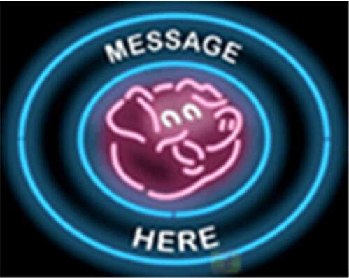 【海外直輸入商品・納期1週間~3週間程度】【全国送料580円・2万以上送料無料】A75 ポーク Pork 広告 店舗用 NEON SIGN アメリカン雑貨 看板 ネオン管