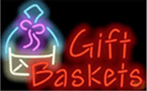 【海外直輸入商品・納期1週間~3週間程度】【全国送料580円・2万以上送料無料】A166 gift baskets ギフトバスケット 広告 店舗用 NEON SIGN アメリカン雑貨 看板 ネオン管