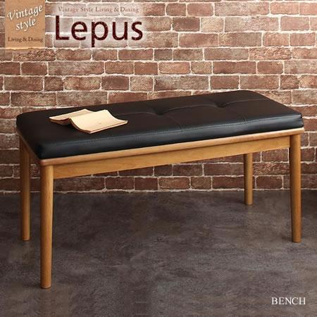 オーク無垢材ヴィンテージデザインワイドサイズダイニング Lepus レプス ベンチ 2P 単品