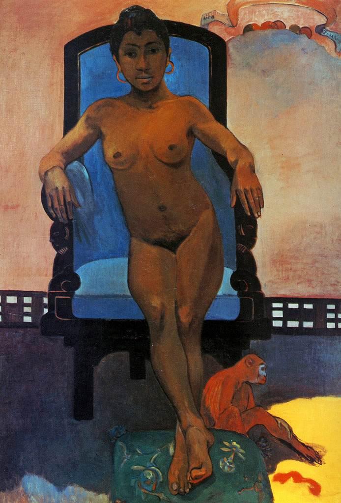 絵画 インテリア 額入り 壁掛け 油絵  ポール・ゴーギャン ジャワの女、アンナ  P15サイズ P15号  652x500mm 油彩画 複製画 選べる額縁 選べるサイズ