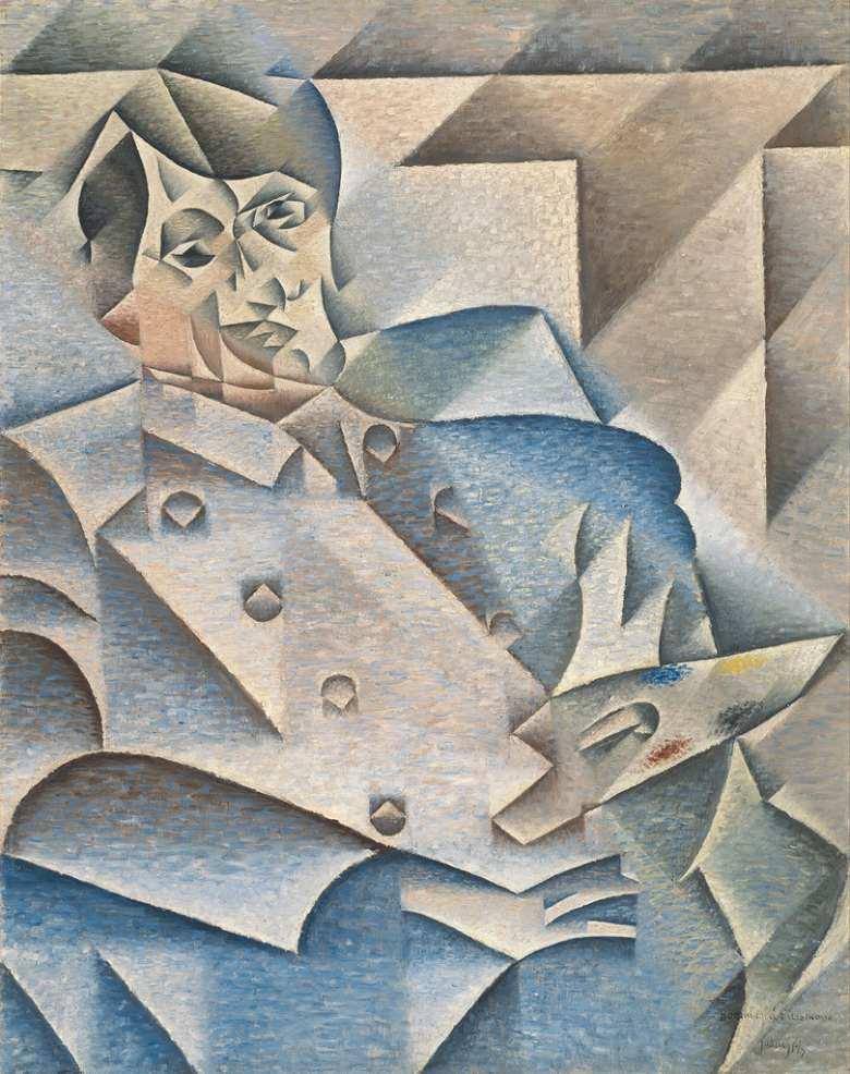 油絵 フアン・グリス パブロ・ピカソの肖像  F12サイズ F12号  606x500mm 油彩画 絵画 複製画 選べる額縁 選べるサイズ