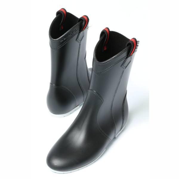 ファビオ ルスコーニ / FABIO RUSCONI / 【再入荷】/ 805 / インヒール ラバー レイン ブーツ ヒール2.5 / ブラック / fa805-15-black