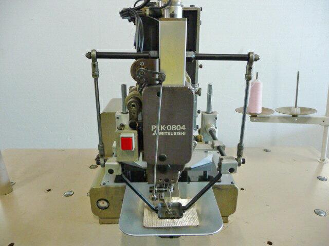 【中古】三菱ミシン MITSUBISHI ミツビシ 三菱電子模様縫いミシン モデルNO- PLK-0804型