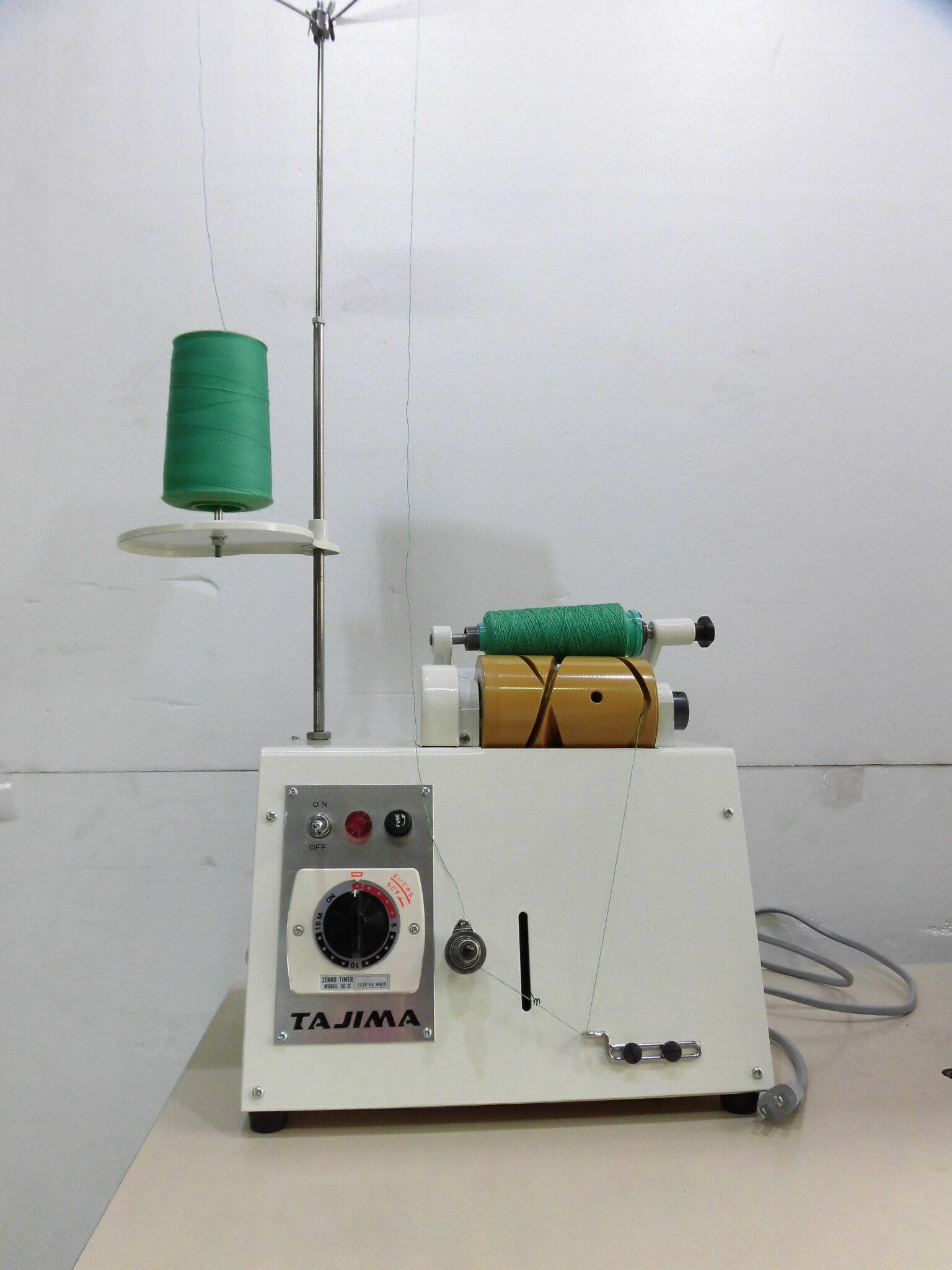 【中古】タジマ製 糸こわけ器 モデルNO-TS-5型 弊社にて整備済。糸の小分け機