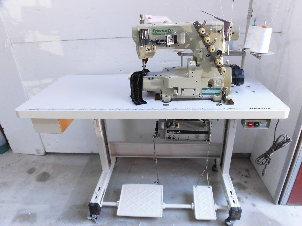 【中古】 ヤマト YAMATO VG2730-156M-100v 3本針、針巾5.6mm 上飾りパーツ無し