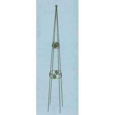 【送料無料】 GARDEN COLLECTION 【85604 ×6】 オベリスク 6個セット 150×150×1170mm 1.6kg 鉄、ガラス製