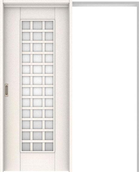 ハピアベイシス 吊戸・引込 79デザイン扉セット 2000高 1645幅 ネオホワイト 大建工業の建具