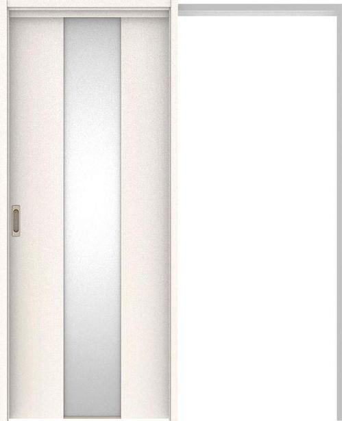 ハピアベイシス 吊戸・引込 G5デザイン扉セット 2000高 1645幅 ネオホワイト 大建工業の建具