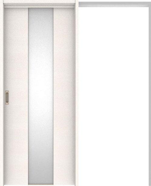 ハピアベイシス 吊戸・引込 Y5デザイン扉セット 2000高 1645幅 ネオホワイト 大建工業の建具