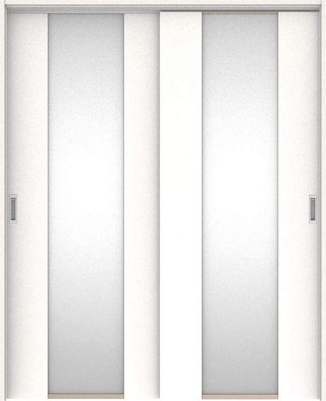 ハピアプレミア 吊戸・引違 4Pデザイン扉セット 2000高 1645幅 モノホワイト柄 大建工業の建具