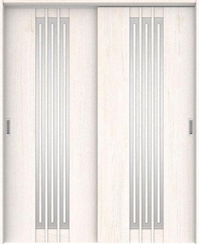 ハピアプレミア 吊戸・引違 5Sデザイン扉セット 2000高 1645幅 アッシュ柄(ネオホワイト) 大建工業の建具