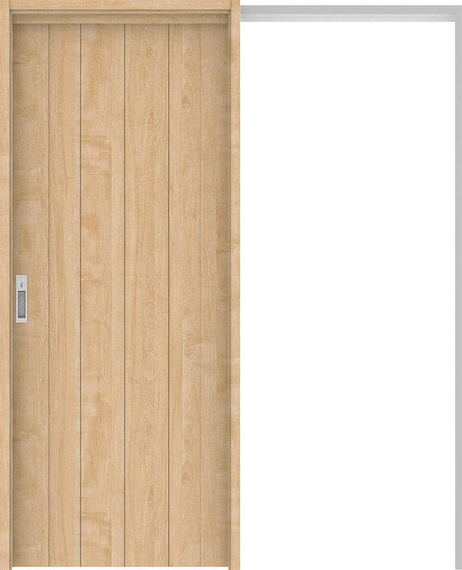 ハピアプレミア 吊戸・引込 0Sデザイン扉セット 2000高 1645幅 メープル柄(ミルベージュ) 大建工業の建具