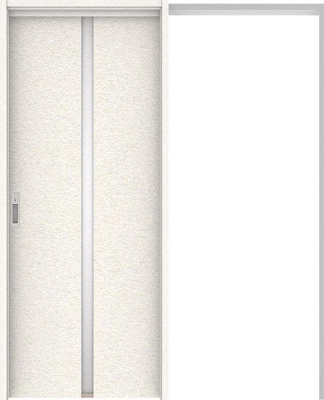 ハピアプレミア 吊戸・引込 2Pデザイン扉セット 2000高 1645幅 リアーピホワイト 大建工業の建具
