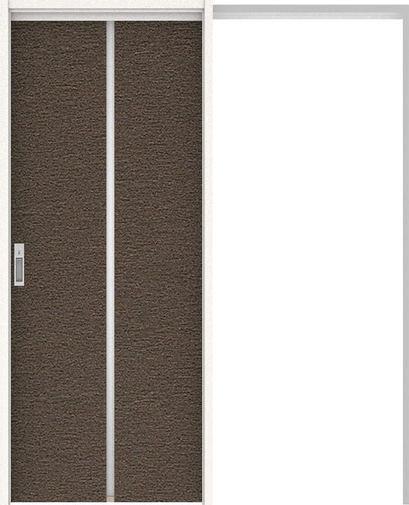 ハピアプレミア 吊戸・引込 6Pデザイン扉セット 2000高 1645幅 リアーピダーク 大建工業の建具