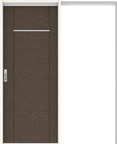 ハピアプレミア 吊戸・引込 8Pデザイン扉セット 2000高 1645幅 リアーピダーク 大建工業の建具