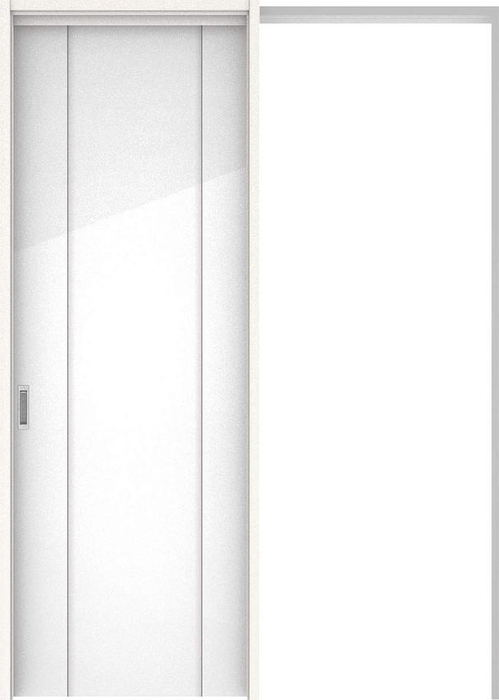 ハピアプレミア 吊戸・引込 1Pデザイン扉セット 2300高 1645幅 ルミホワイト 大建工業の建具
